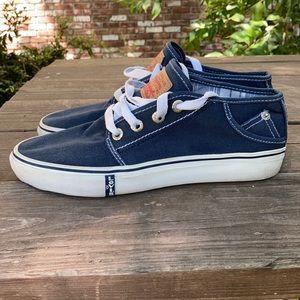 Levi Strauss & Co Canvas Skate Tennis Shoes